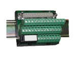 DIN Rail Mountable Screw Terminal Panel